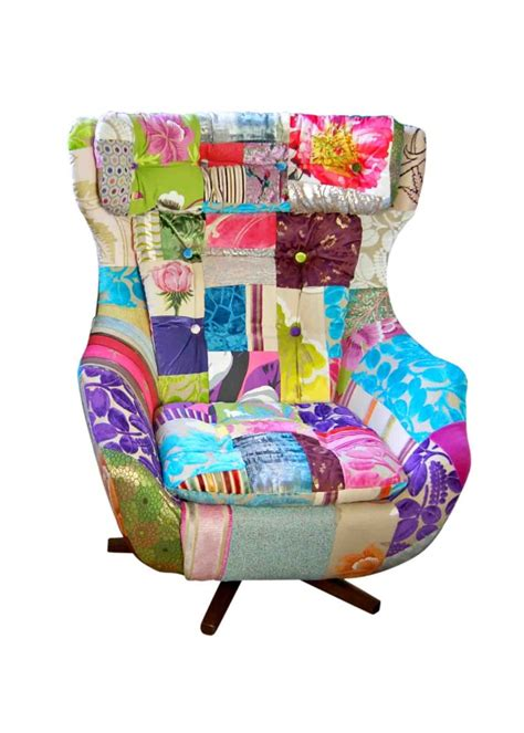 Patchwork Egg Chair - patchwork egg chair best home design 2018