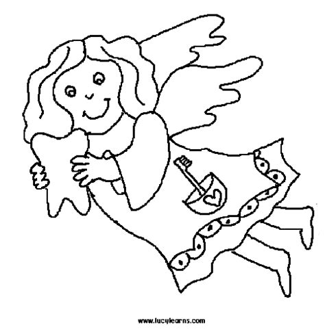 special needs children coloring tooth fairy coloring