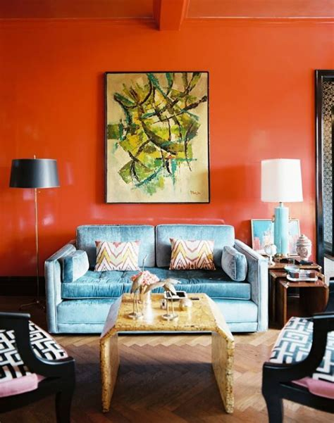 orange walls living room living room paint ideas find your home s true colors