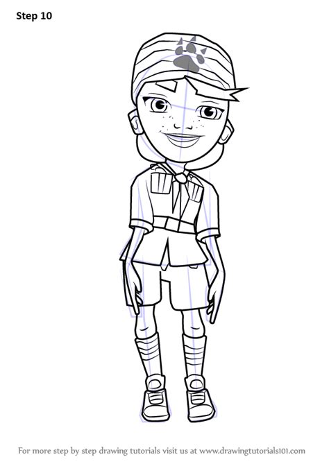 10 free video tutorials for learning sketch 1stwebdesigner learn how to draw olivia from subway surfers subway