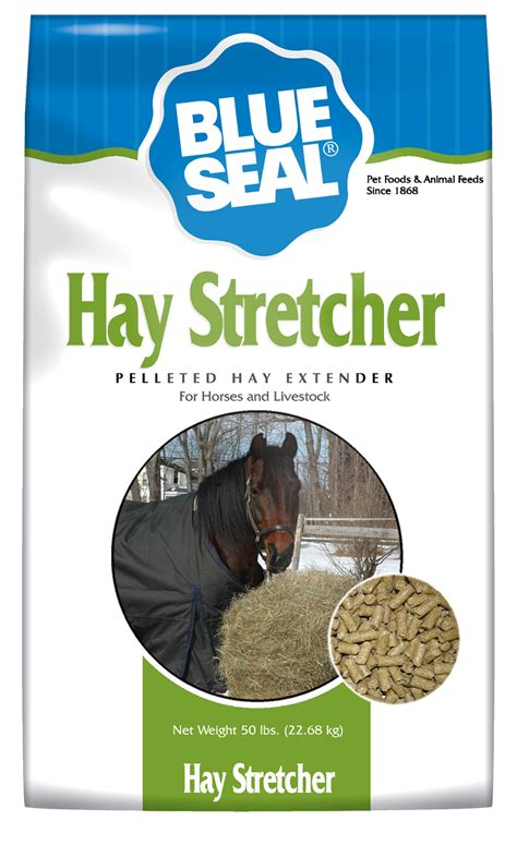 blue seal food blue seal hay stretcher pellet 50 lb