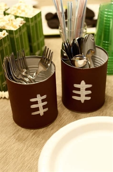 design ideas vinea utensil cup utensil holder for a superbowl party or tailgate super