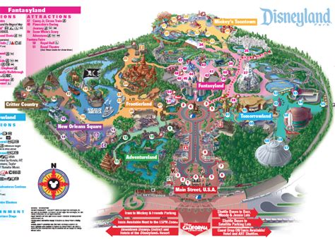 maps disneyland california map of disneyland california california map
