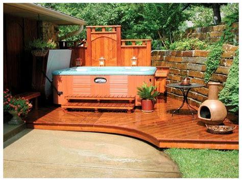 patio tub design ideas tub patio ideas tub privacy ideas tub