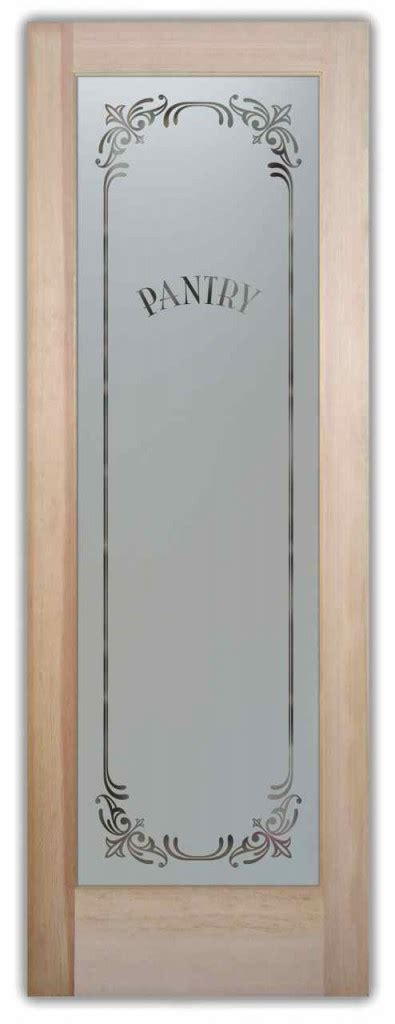 Glass Pantry Doors Pantry Door Glass Classic Designs Glass Pantry Doors With Frosted Glass