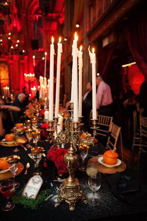 gothic inspired reception // photo by Photo Pink NYC
