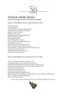 finger food menu for christmas party