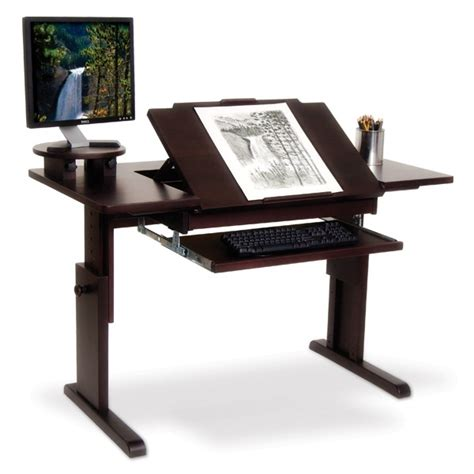 Ah Art Desk For Traditional Or Computer Art Home Drafting Computer Desk