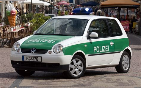 volkswagen lupo polizei wallpapers  hd images car pixel