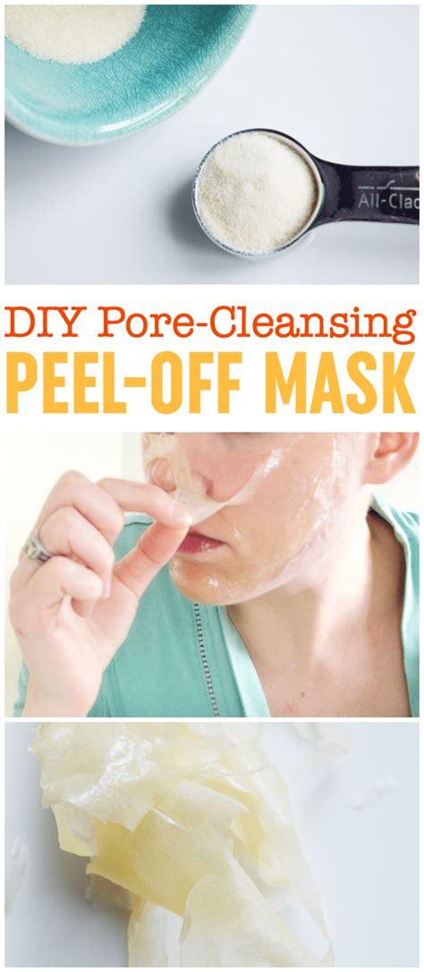 diy cleansing mask diy peel mask pore cleansing blackhead busting mask
