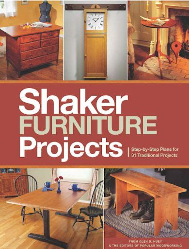 Shaker Furniture Projects 2014 Popular Woodworking
