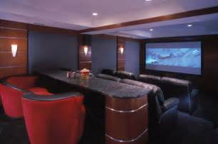 Home Cinema Interior Design by 25 Inspirational Modern Home Movie Theater Design Ideas