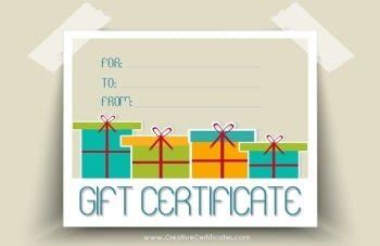 graphic design gift card template portfolio free gift certificate template customize and