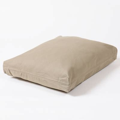 dog bed covers washable rectangular dog bed cover cape cod khaki twill