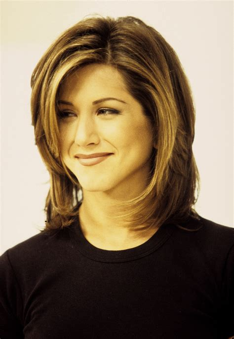 Aniston Hairstyles On Friends by Aniston And The Haircut Popsugar