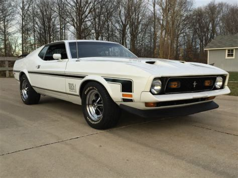 1971 mustang sportsroof 1971 ford mustang mach 1 351 cleveland 2 door sportsroof