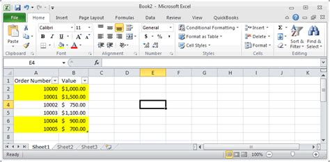 format gridlines excel 2010 ms excel 2010 automatically alternate row colors two