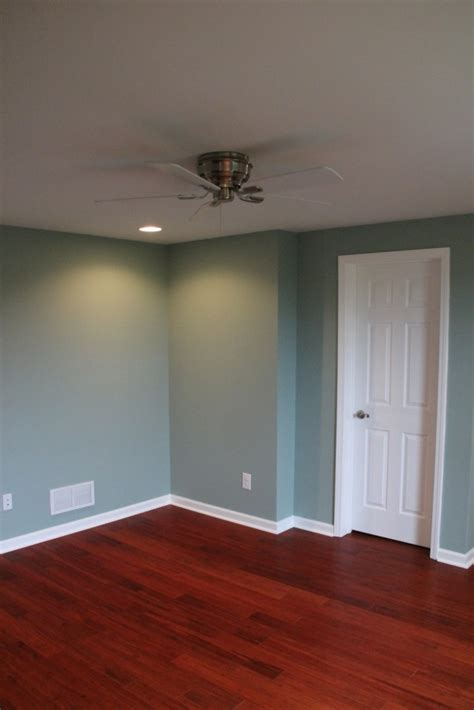 smokey slate walls by behr a complete basement remodel in atlanta colby home services in