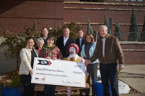 ronald mcdonald house denver the gates corporation raised 160 000 for ronald mcdonald