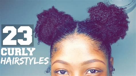 i want to see some natural hairstyles 23 curly hairstyles youtube