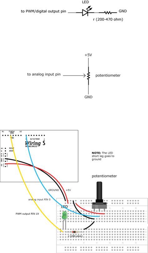 led potentiometer wiring diagram new wiring diagram 2018