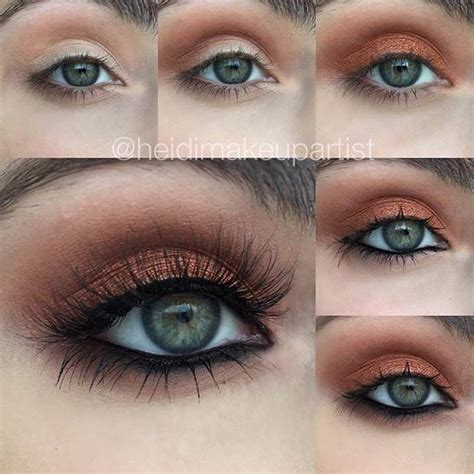 eyeliner tutorial for green eyes 31 pretty eye makeup looks for green eyes stayglam