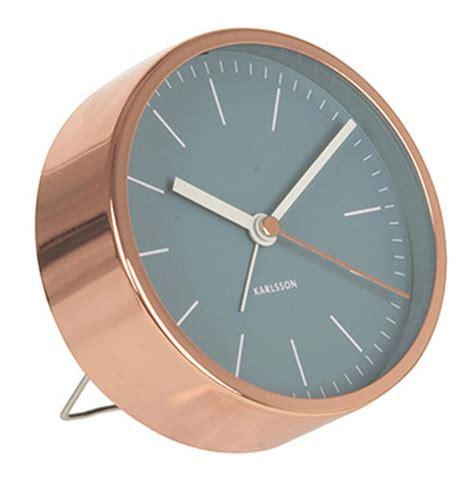 Uhr Karlsson by Karlsson Ka5536bl Tischuhr Bei Uhren4you De