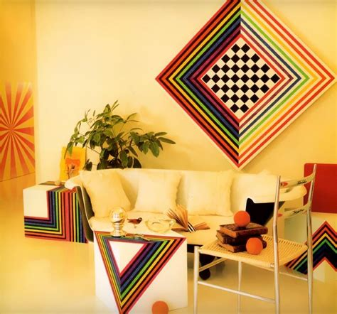 home design books 2014 colorful 70s and 80s interior design possibilities