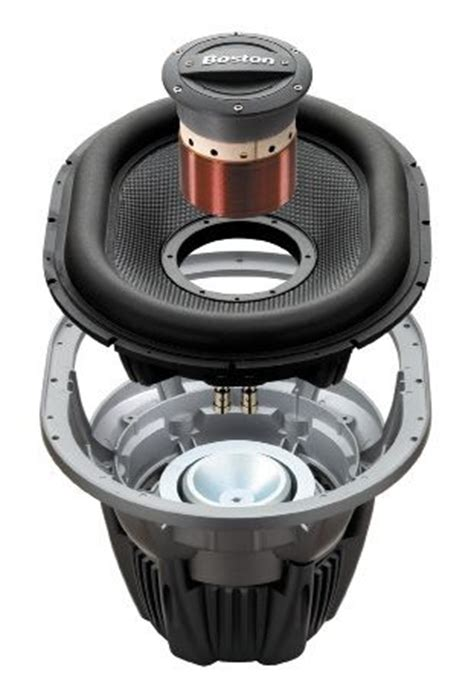 Speaker Oval Boston related keywords suggestions for subwoofer cutaway
