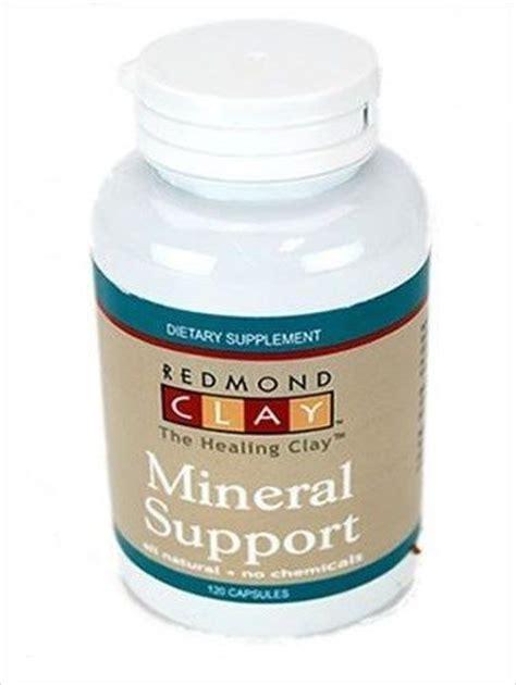 Bentonite Clay Detox Pills redmond trace mineral support pills bentonite clay