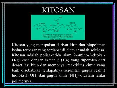 biopolimer adalah chitosan sebagai bahan pengawet tahu