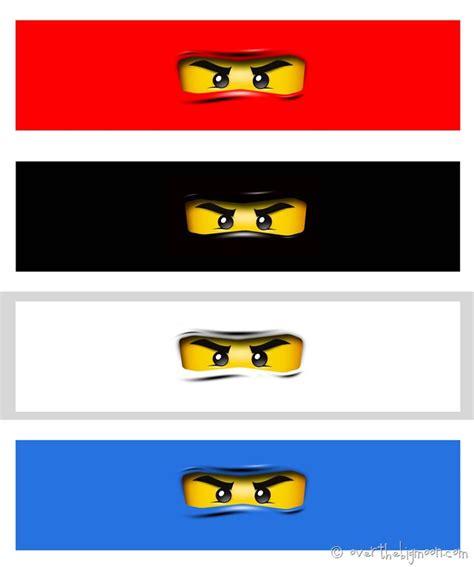 ninjago template 8 best images of ninjago printables ninjago