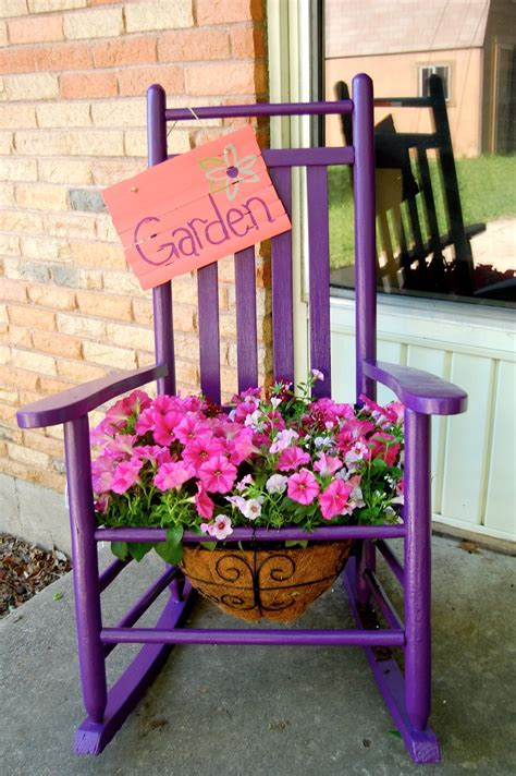 planters chair my endless thought process the rocking chair planter