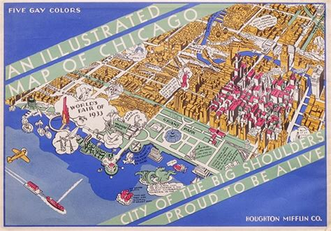 chicago worlds fair map i always find things to talk and write about
