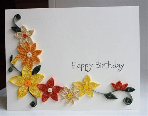 How To Make Paper Quilling Greeting Cards - how to make quilling greeting cards jobsmorocco info