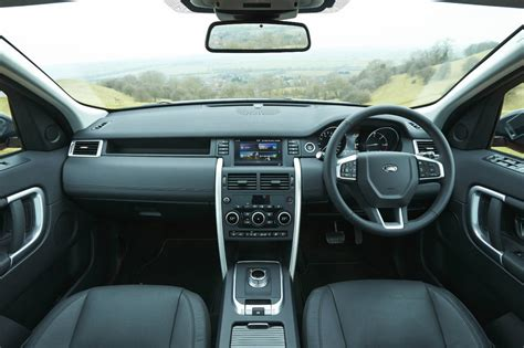 range rover sport dashboard land rover discovery sport review not so sporty carwitter