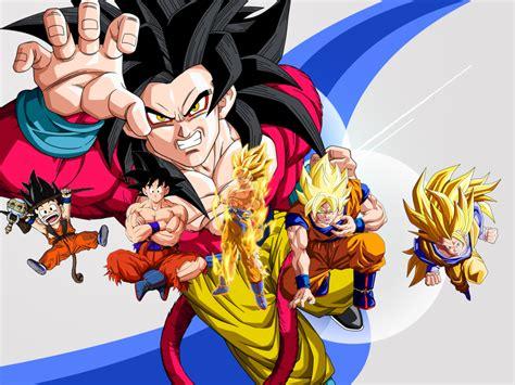 Imagenes Goku En Todas Las Fases   todas las fases de goku y vegeta taringa