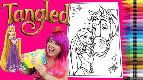 crayola giant coloring pages tangled coloring rapunzel tangled disney giant coloring book page