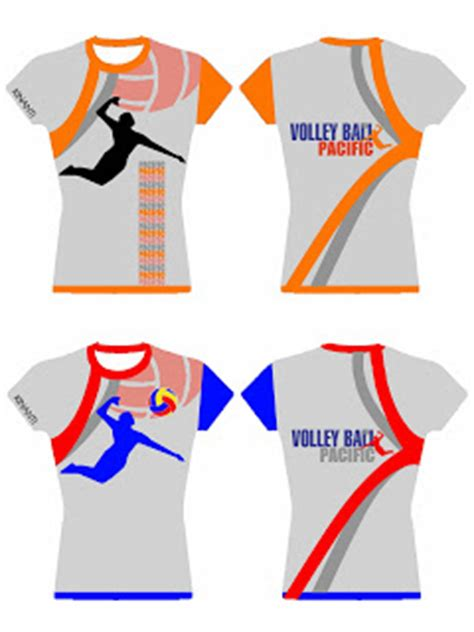 Kaos Pacific Pacific 11 pacific volley club bekasi desain kaos pacific