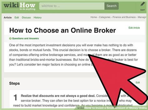 3 ways to invest a small amount of money online wikihow - Make Small Amounts Of Money Online