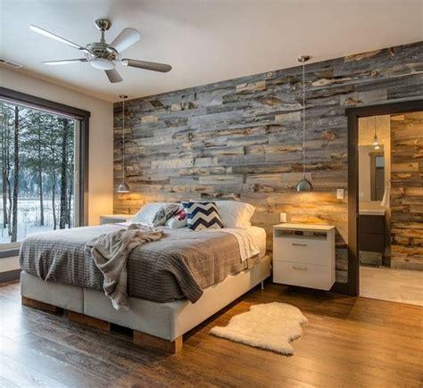 gambar kreasi interior dinding panel kayu desain