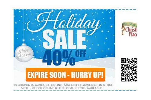 christmas place coupon codes