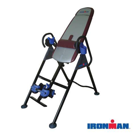 amazon com inversion table amazon com ironman lxt850 locking inversion therapy