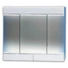 armoire de toilette cybelle 3 portes avec miroirs 2