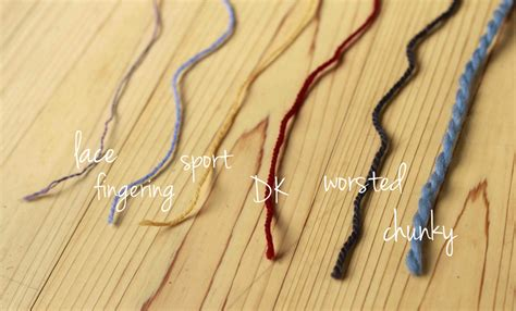different types of knitting knitting 101 yarn types and weights aroha knits