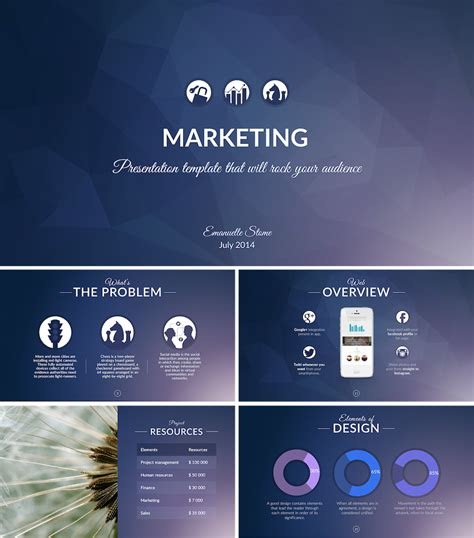 Best Powerpoint Templates Improve Presentation Advertising Presentation Templates