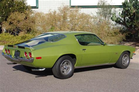 1970 camaro green citrus green 1970 chevrolet camaro coupe