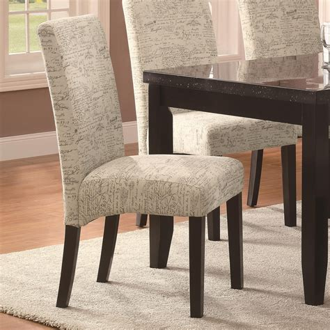 Fabric Upholstered Dining Chairs Dining Room Chairs Archives Design Your Home