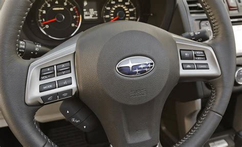 subaru forester steering wheel car and driver