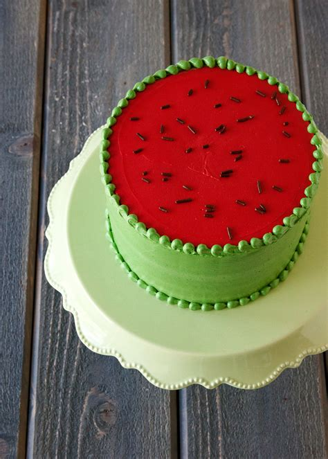 how to make a watermelon cake style sweet ca